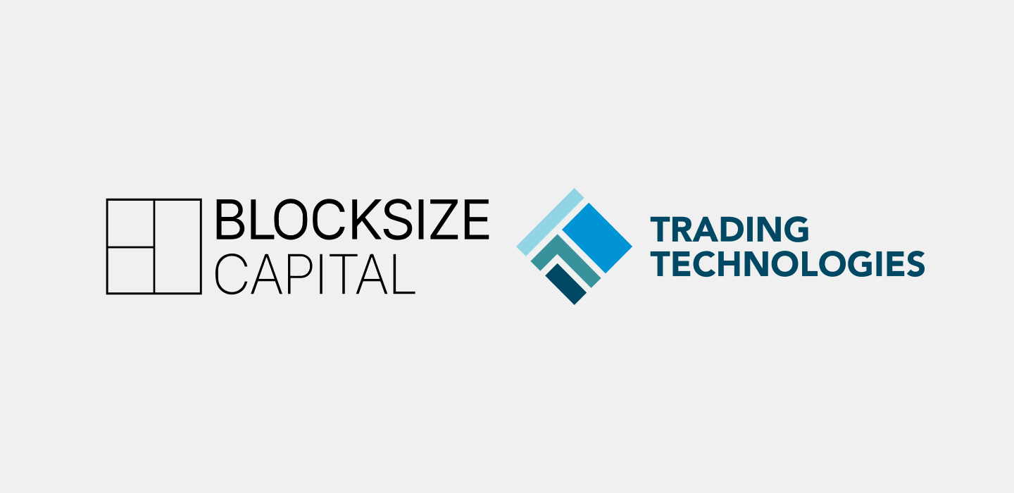 Logos Blocksize Capital and Trading Technologies