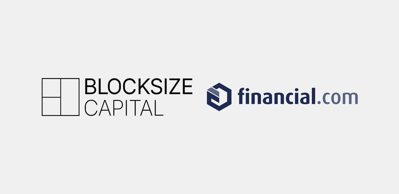 Logos Blocksize Capital and financial.com