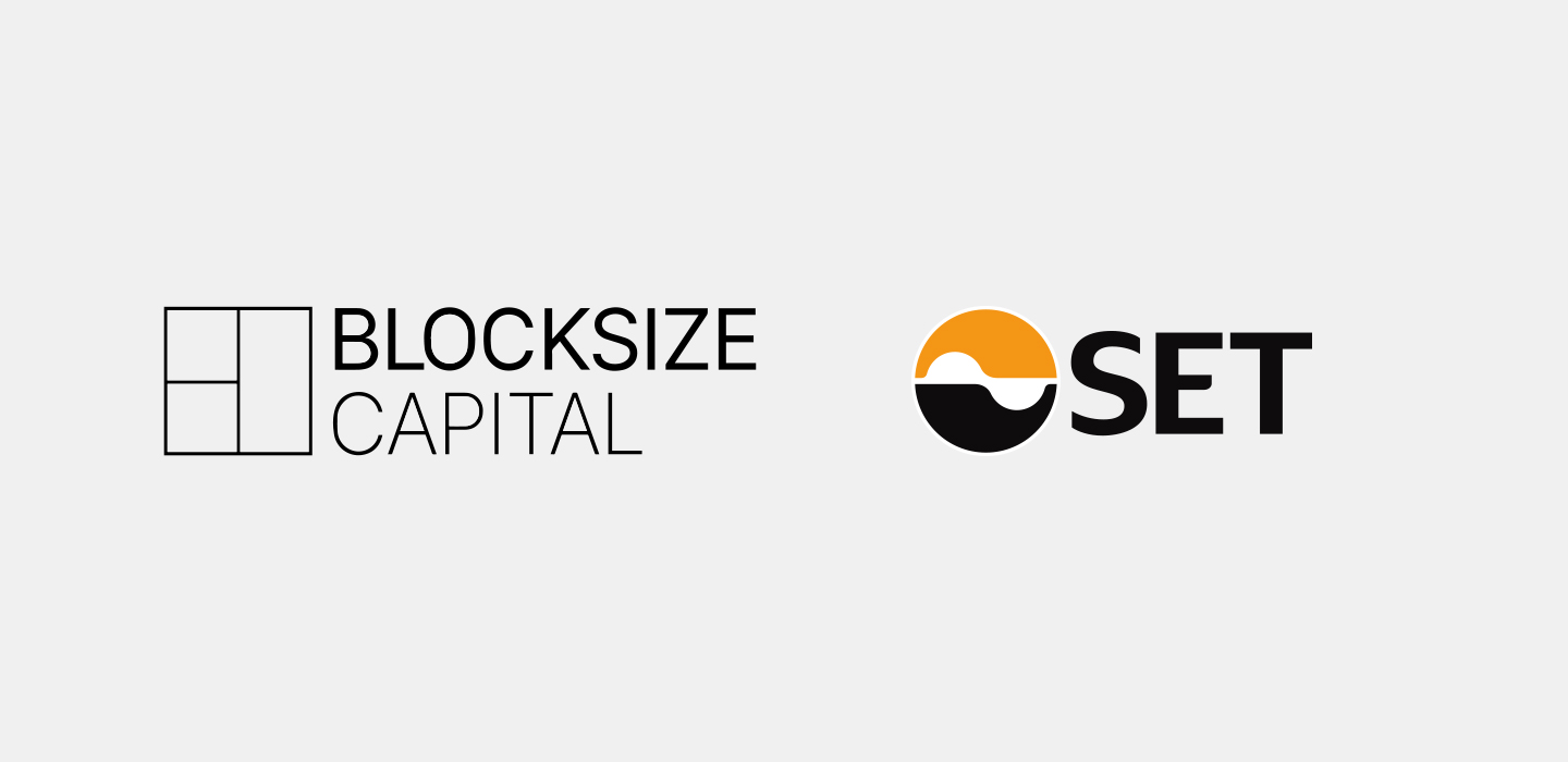 Logos Blocksize Capital and SET